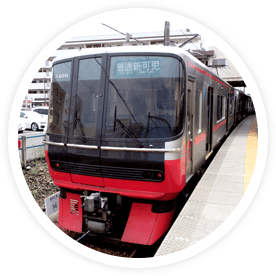 It's possible to attend class coming from Gifu Prefecture and Mie Prefecture as well.