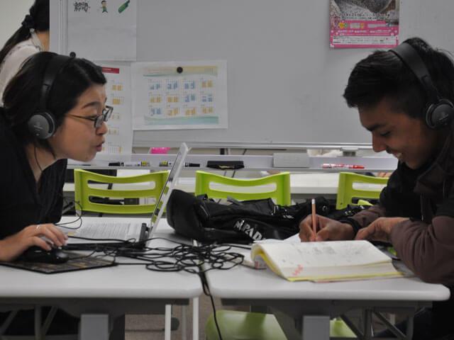 話し方の矯正や発音練習、読み書きだけの練習も
