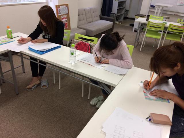 短期集中クラスの授業風景