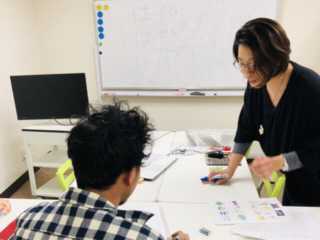 Training for work or focusing on the Japanese Language Proficiency Test (JLPT).