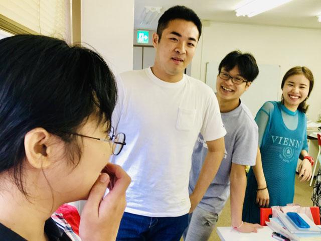 Lớp tiếng Nhật tập trung mùa hè